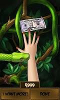 Screenshot of Money or Death - snake attack!