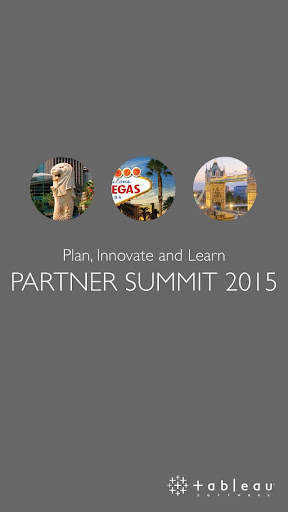Tableau Partner Summit 2015