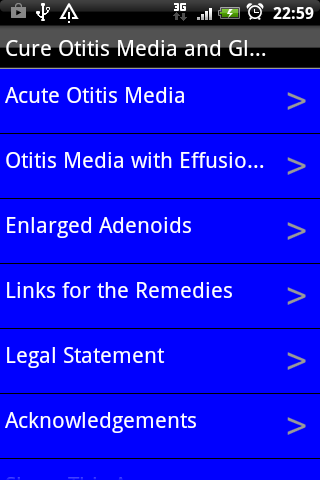 Cure Otitis Media and Glue Ear