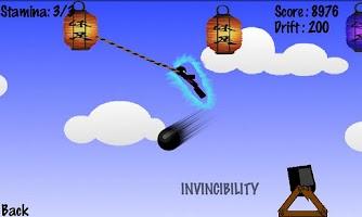 Screenshot of Bungee Ninja Lite