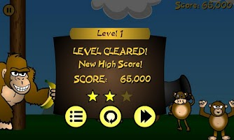 Screenshot of Angry Apes (Ad-Free)