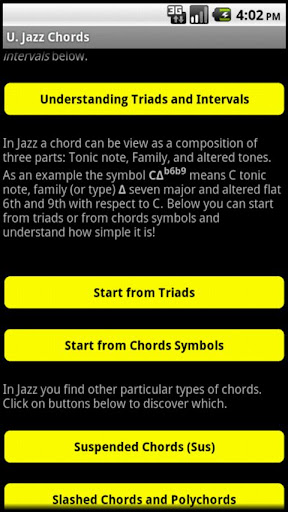 Learn Jazz Music Chords