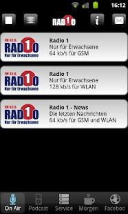 Radio 1 - Nur für Erwachsene - screenshot thumbnail