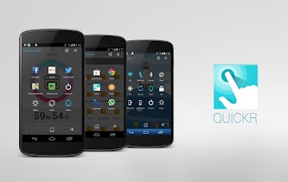 Screenshot of Quickr - Action Launcher