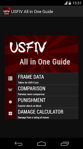 USF4 All in One Guide
