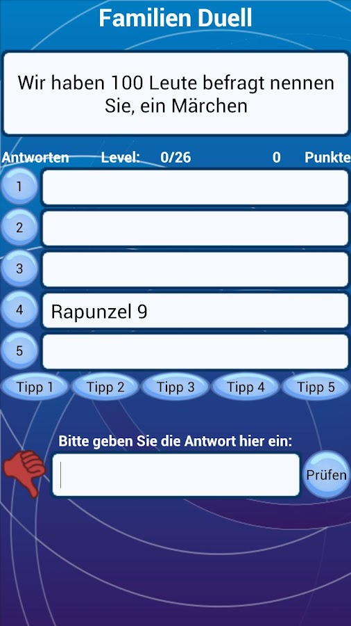 Familien Quiz Duell - screenshot