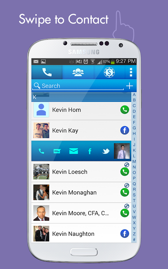 Spydy Contacts - screenshot