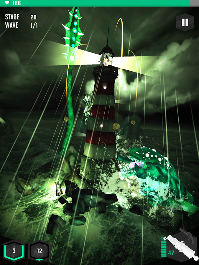 Shoggoth Rising - screenshot