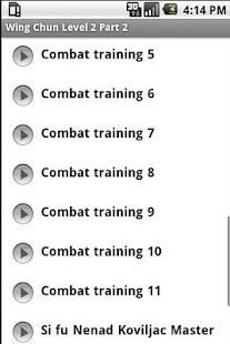 Wing Chun Kung Fu Level 2 Pt 2 - screenshot thumbnail