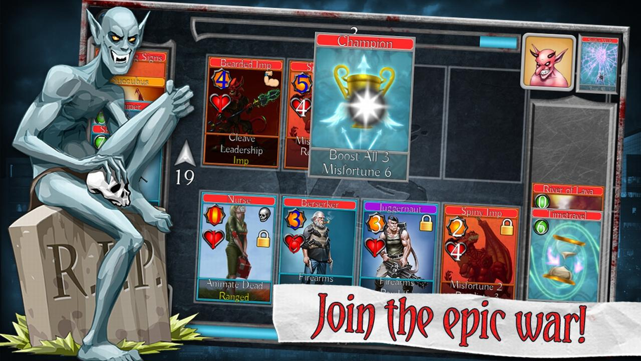 Bad Blood TCG- screenshot