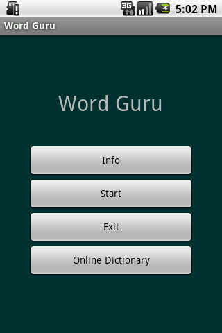 Word Guru- screenshot