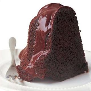 Chocolate Sauerkraut Cake with Chocolate Glaze