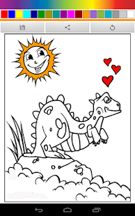 Dinosaurs Coloring for Kids