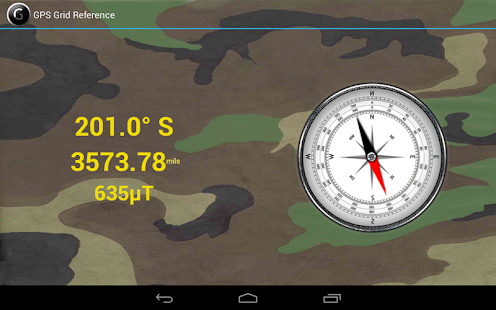 GPS   Grid Reference - Full - screenshot thumbnail