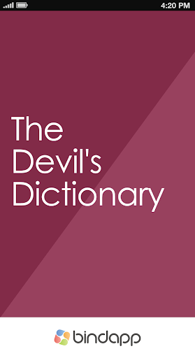 ebook The Devil's Dictionary
