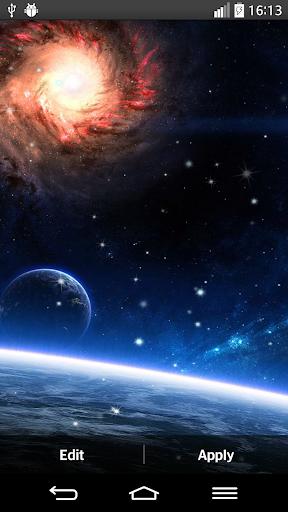 惑星は壁紙を生きる