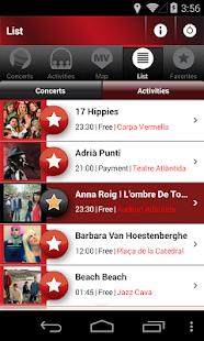Mercat de Música Viva de Vic- screenshot thumbnail