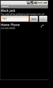 Hide phone number- screenshot thumbnail