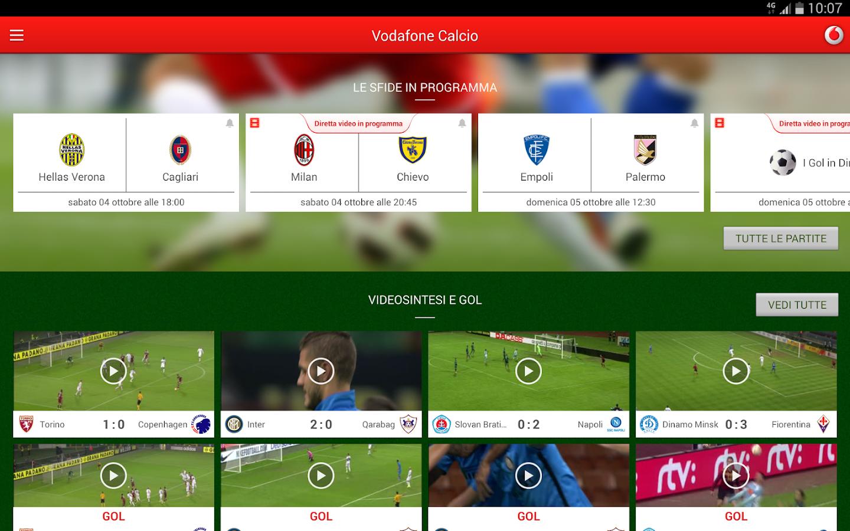 Vodafone Calcio - screenshot