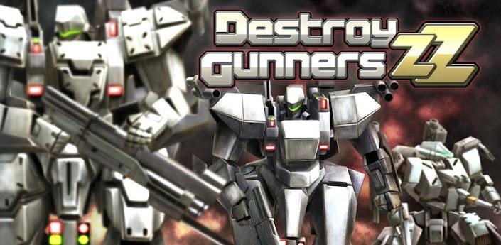 Destroy Gunners ZZ - игра про роботов скачать на андроид