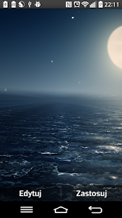 Ocean At Night Live Wallpaper- screenshot thumbnail