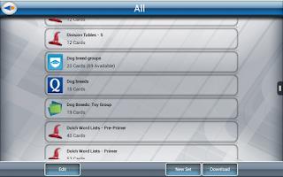 Screenshot of Quizard Flashcards Lite