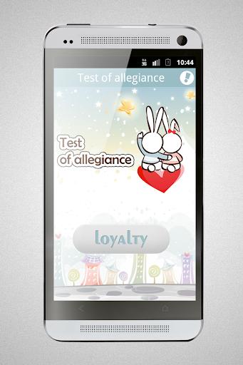 Test of allegiance