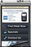 Screenshot of Hotels On Your Mobile