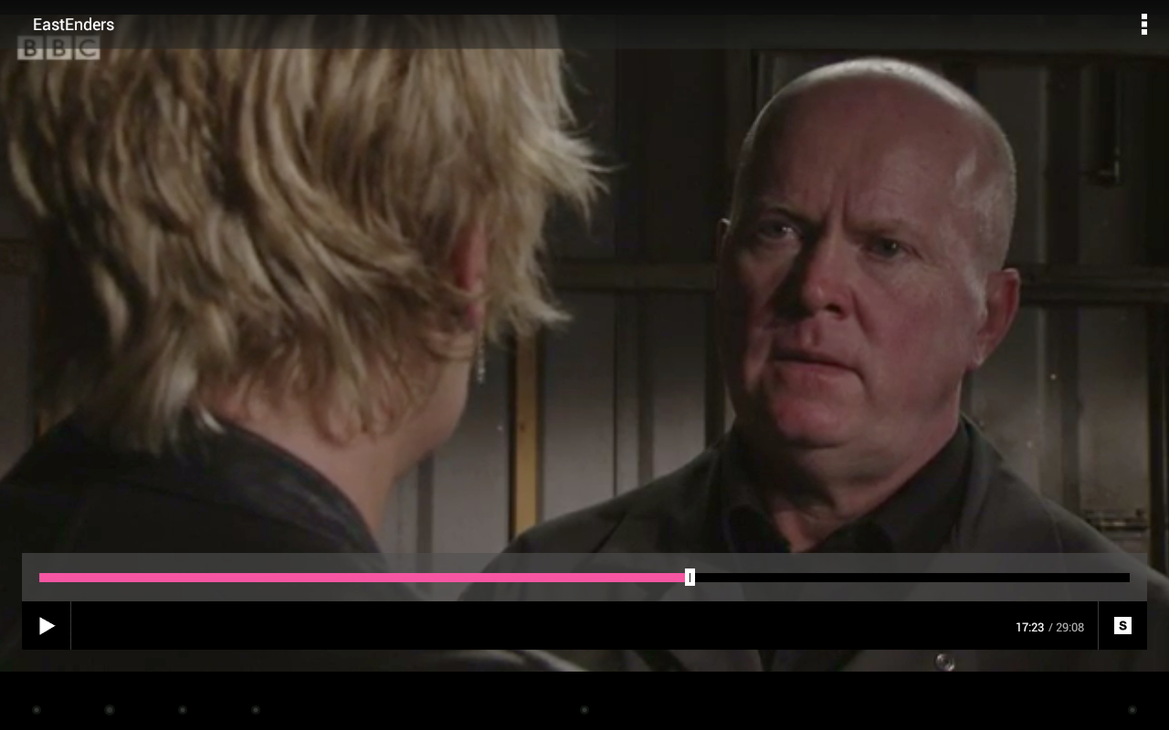 BBC iPlayer - screenshot