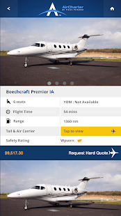 AirCharter Private Jet Charter- screenshot thumbnail