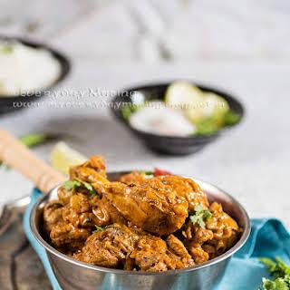 Dahi Wala Murgh / Chicken in a Yogurt Based Gravy.