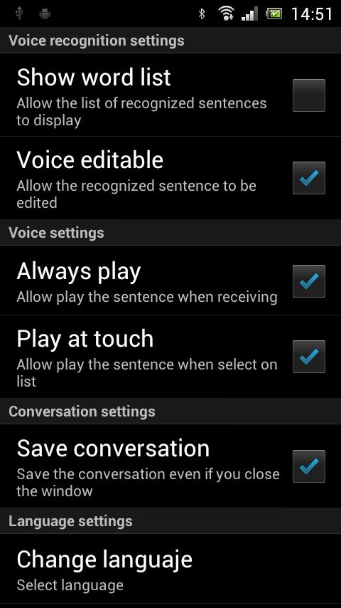 TransUp Lite Translator - screenshot