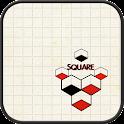 square GO launcher theme