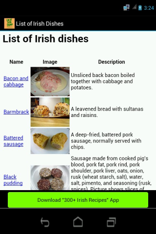 List of Irish dishes