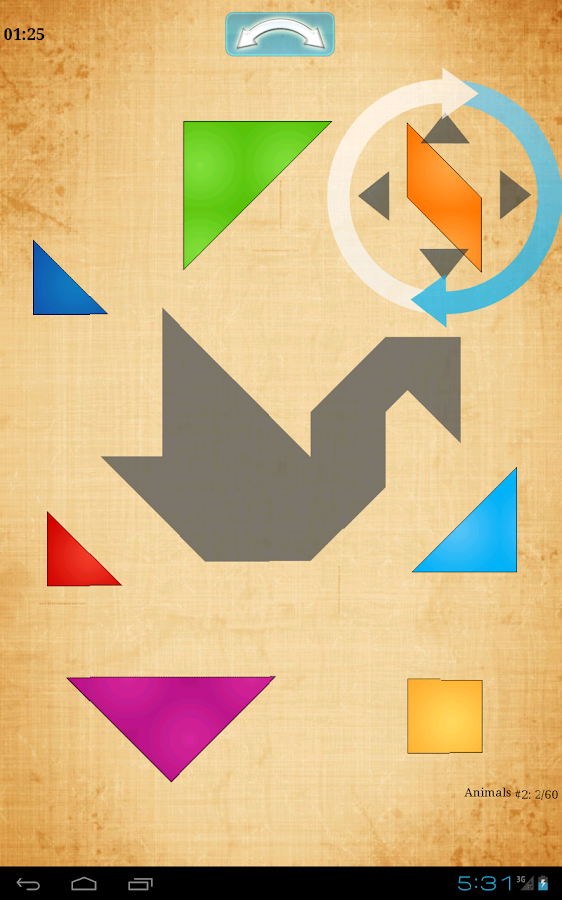 Tangram HD- screenshot