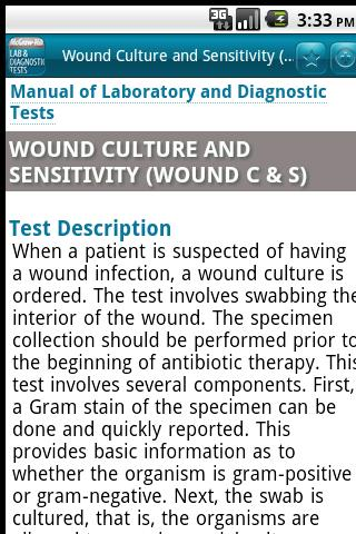 Manual of Lab & Diagnostic Tes - screenshot