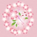 Sakura Clock widget icon