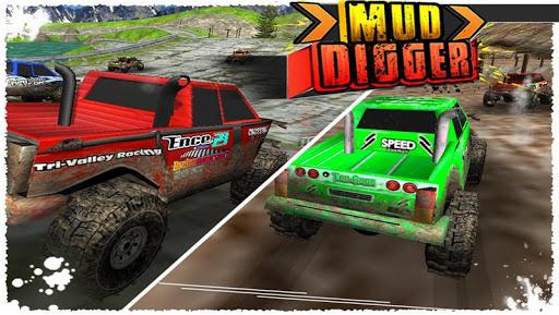 【免費賽車遊戲App】Mud Digger ( 3D Racing Game )-APP點子