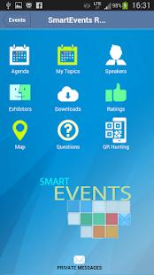 SmartEvents - náhled