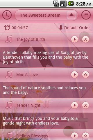 Prenatal Lullabies Lite - screenshot