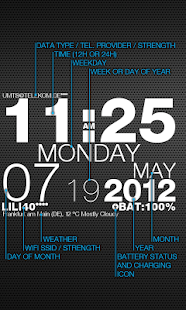 wp clock Screenshot 2
