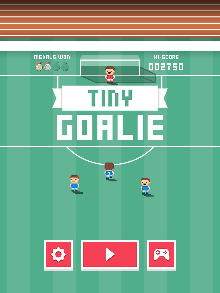 Tiny Goalie screenshot #1