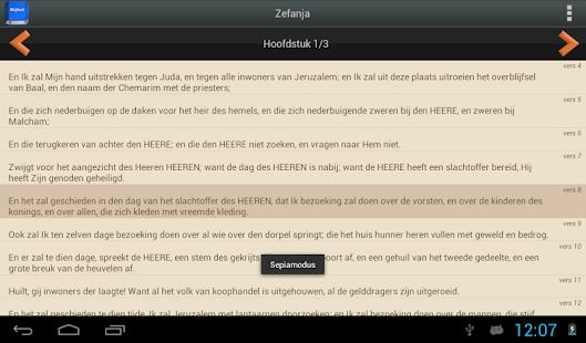 Statenvertaling Bijbel PRO screenshot