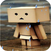 Cartoon of rain Live Wallpaper