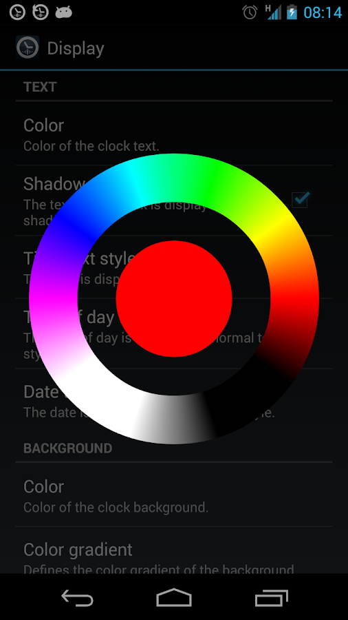Speaking Clock: TellMeTheTime - screenshot