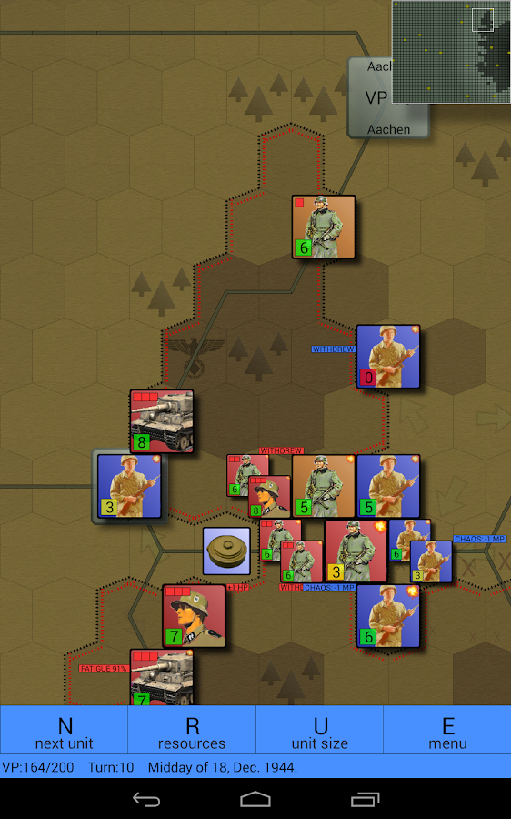 Battle of Bulge (Conflicts) - screenshot