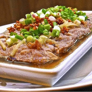Steamed Minced Pork With Salted Fish.