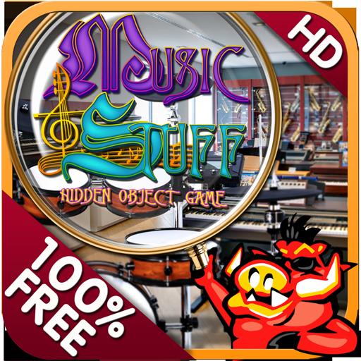 Music and Stuff Hidden Objects 解謎 App LOGO-APP試玩