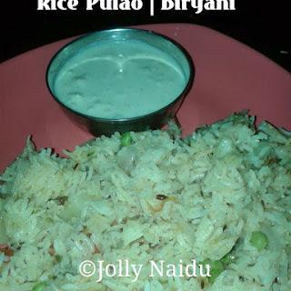 Rice Pulao | Veggie Biryani