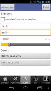 DSB Volksfestfinder- screenshot thumbnail